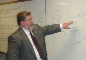 Image of A.J. Lecturing at Tulane University